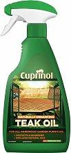 Cuprinol Natural Enhancing Teak Oil Spray Clear