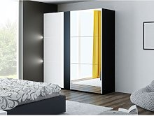 Curci 2 Door Sliding Wardrobe Wade Logan