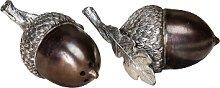 Curiosa Cabinet - Acorn Salt and Pepper Shaker Set
