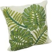 Curiosa Cabinet - Glass Beaded Cushion 'Green