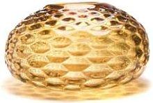 Curiosa Cabinet - Large Yellow Glass Vase