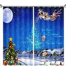 curtain Blackout curtains, Christmas tree