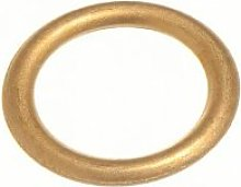 CURTAIN BLIND UPHOLSTERY RINGS HOLLOW BRASS 16MM