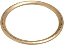 CURTAIN BLIND UPHOLSTERY RINGS HOLLOW BRASS 32MM