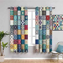 curtain Color pattern pattern 63 x 54 inch