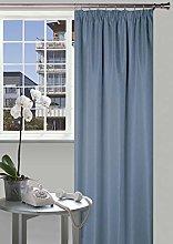 Curtain Dark Blue
