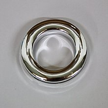 Curtain Eyelet Rings - Chrome Colour (Pack of 10)