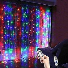Curtain Fairy Lights Plug in 3M 300Led 8 Modes
