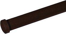Curtain Finial Symple Stuff Colour: Dark brown