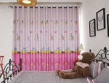Curtain for Girls Bedroom Curtains with Eyelet Top