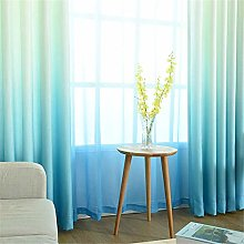 Curtain for Girls Bedroom Gradient Curtains with