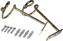 Curtain Hooks Symple Stuff Colour: Brass