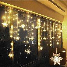 Curtain Light LED Light Garland Star 75LED 3 * 0.8