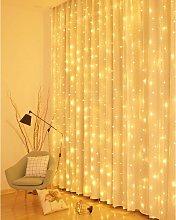 Curtain Lights, 3M * 3M Curtain String Lights 300