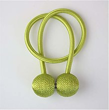 Curtain rope buckle 1Pair Magnetic Ball Curtain
