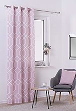 Curtain TISSU pink