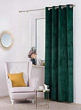 Curtain Velvet, green