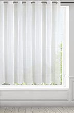 Curtain Voile Smooth Transparent Eyelets