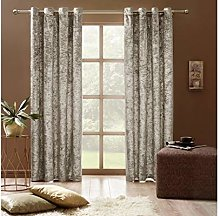 Curtains Crushed Velvet Thermal Insulated, Room