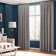 Curtains Faux Linen, Thermal Insulated, 3 Pass