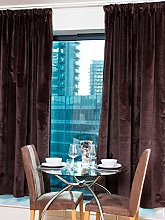 Curtains Knitted Heavy Velvet Thermal Insulated,