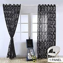 Curtains Semi-shading Sliding Patio Door Curtain