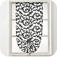 CURTAINS Short Kitchen Modern Window Treatment Tie