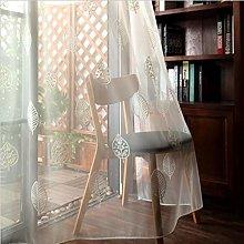 Curtains Transparent Sheets Voile Curtain