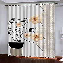 CURTAINSCSR Heat Insulating Blackout Curtain,