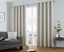 Curtina Camberwell Eyelet Curtains - 117x137cm -