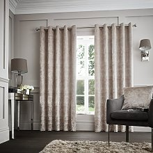Curtina Downton Lined Curtains - 168x229cm - Mink
