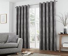Curtina Elmwood Lined Curtains - 168x183cm -