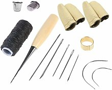 Curved Upholstery Repair Kit Hand Sewing Needles