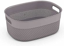 CURVER Filo Clothes Basket Medium Brown Mole