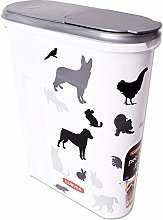 Curver Petlife Box Feed Bin Pet Food Containers