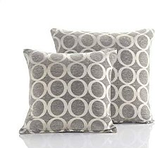 Cushion Cover Oh 18' Silver Bed Sofa Accessory