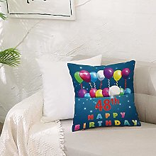 Cushion Covers 20x 20 inch Soft Polyester,48th