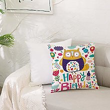 Cushion Covers 20x 20 inch Soft Polyester,Birthday