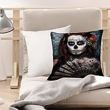 Cushion Covers (45 x 45 cm) - Polyester,Day of The