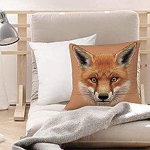 Cushion Covers (45 x 45 cm) - Polyester,Fox,Cute