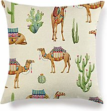 Cushion Covers 45cm*45cm watercolor Cactus and