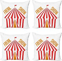 Cushion Covers 45x45cm Pack of 4 Outdoor Indoor