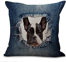 Cushion Covers Pads 18x18 inch/45cmx45cm Denim