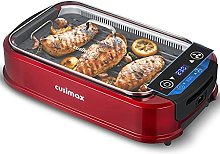 CUSIMAX Electric Grill Smokeless with Large LED