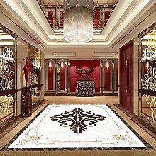 Custom 3D Floor Mural Wallpaper 3D Retro Tiles