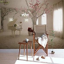 Custom 3D Mural Wall Paper Tv Backdrop Sofa Space