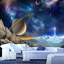 Custom 3D Mural Wallpaper for Wall Outer Space