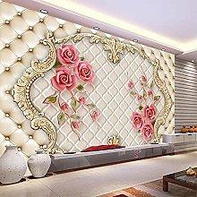 Custom 3D Mural Wallpaper Three-Dimensional Soft
