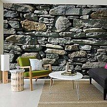 Custom 3D Photo Stone Brick Wall Wallpaper Country