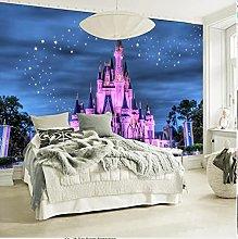 Custom 3D Photo Wallpaper for Kids' Room Sofa